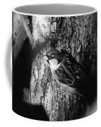 Sparrow On A Tree Coffee Mug