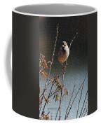 Sparrow On A Twig Coffee Mug