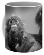Spectacled Langur Family Coffee Mug