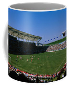 Spectators Watching A Soccer Match, Usa Coffee Mug