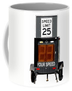 Speed Limit Monitor Coffee Mug