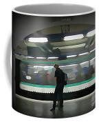 Speeding Subway Train Coffee Mug