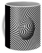 Sphere Abstract Pinch Coffee Mug