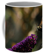 Sphinx Moth On Butterfly Bush Coffee Mug