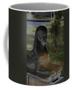 Sphinx Statue Three Quarter Profile Solar Usa Coffee Mug
