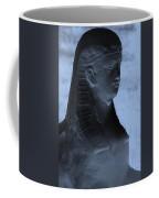 Sphinx Statue Torso Blue And Gray Usa Coffee Mug
