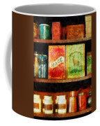 Spices On Shelf Coffee Mug