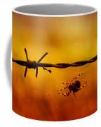 Spider In A Web Coffee Mug
