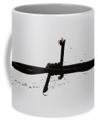 Spider On The Barbed Wire Coffee Mug