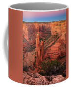 Spider Rock Sunset Coffee Mug