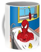 Spiderman  Coffee Mug by Mark Ashkenazi
