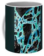 Spiderweb Turquoise Stone Painting 2 Coffee Mug