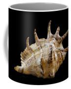 Spikes Back Side Coffee Mug by Jean Noren