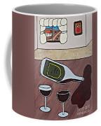 Essence Of Home - Spilt Wine Bottle Coffee Mug