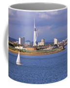 Spinnaker Tower And Gunwharf Quays Coffee Mug