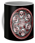 Spinning Celtic Skulls Coffee Mug