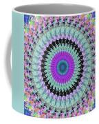 Spinning Colors Mandala Coffee Mug