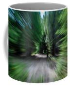 Spinning Through The Woods Coffee Mug