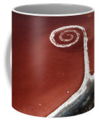 Spiral Jetty From The Air Coffee Mug
