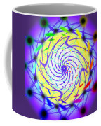 Spiral Light Hexagon Coffee Mug
