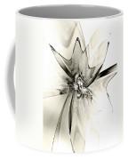 Spiral Mania 4 - Black And White Coffee Mug