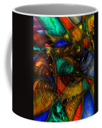 Spiral Stained Glass Coffee Mug