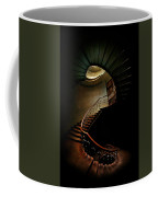 Spiral Staircase In Green And Red Coffee Mug