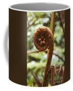 Spiral Tree Fern Coffee Mug
