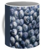 Spirals Blue Coffee Mug