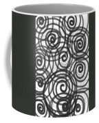 Spirals Of Love Coffee Mug by Daina White