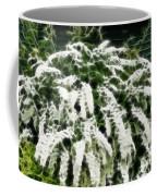 Spirea Expressive Brushstrokes Coffee Mug