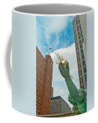 Spirit Of Detroit's Left Hand Coffee Mug