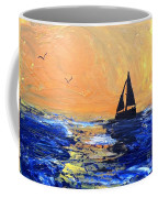 Spirits Rise As The Sails Fill Coffee Mug