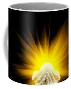 Spiritual Light In Cupped Hands Coffee Mug
