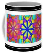 Spirituality - Life Lights - Kaleidoscope - Triptych Coffee Mug