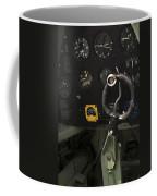 Spitfire Cockpit Coffee Mug by Adam Romanowicz