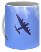 Spitfire  Lancaster Bomber Coffee Mug