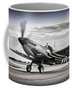 Spitfire Warming Up For D Day Coffee Mug