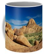 Spitzkoppe Mountain Landscape Of Granite Rocks Namibia Coffee Mug