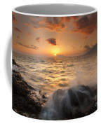 Splash Of Paradise Coffee Mug by Mike  Dawson