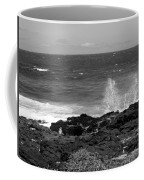 Splashing On The Shore Coffee Mug