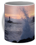 Splashy Sunrise Coffee Mug