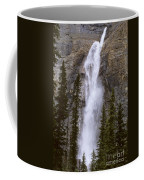 Splendor Of Takakkaw Falls Coffee Mug