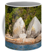 Split Apple Rock Near Abel Tasman Np In New Zealand Coffee Mug