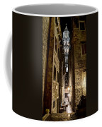 Split Cathedral From The Temple Of Jupiter At Night Croatia Coffee Mug