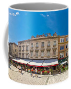 Split Historic Square Panoramic View Coffee Mug