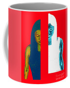 Split Personality Coffee Mug by Patrick J Murphy