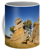 Split Rocks With Woman Coffee Mug