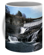 Spokane Falls At Low Tide Coffee Mug