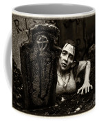 Zombie Lady Sepia Coffee Mug